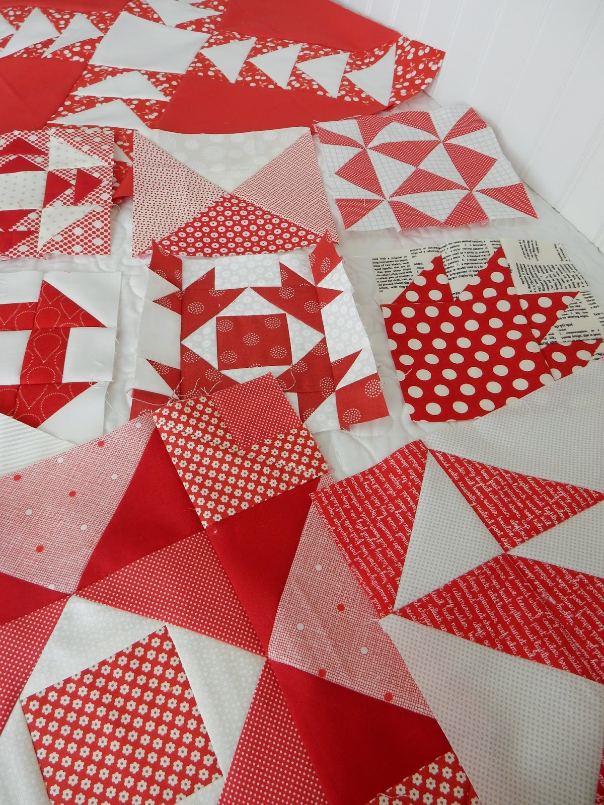 Red White Quilt Binding Tutorial A Quilting Life