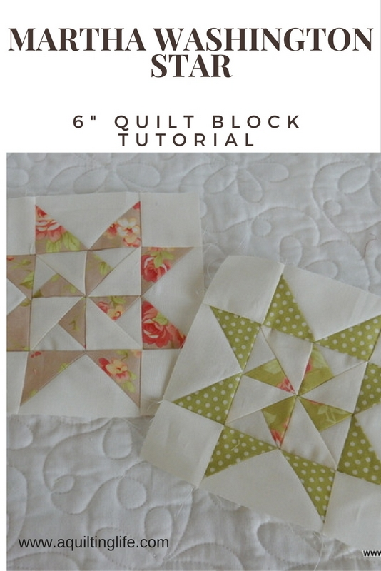 Six Inch Quilt Block Tutorial Round Up A Quilting Life