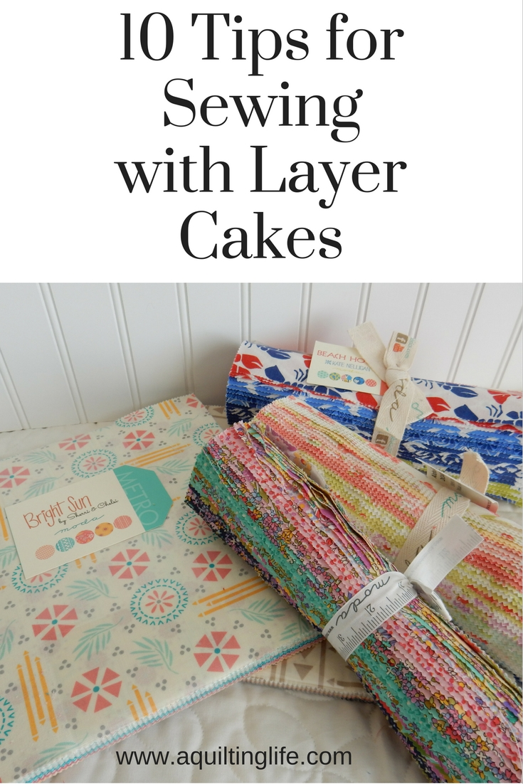 Where Can I Get Moda Layer Cakes Charm Packs From