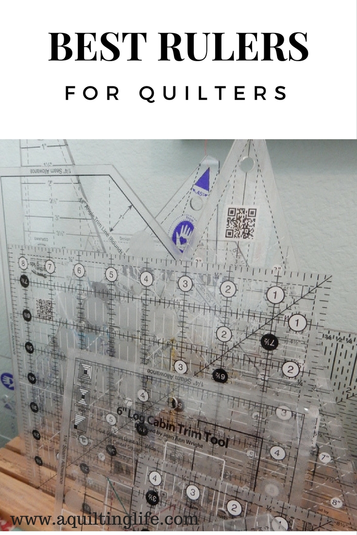 Best Rulers for Quilters - A Quilting Life