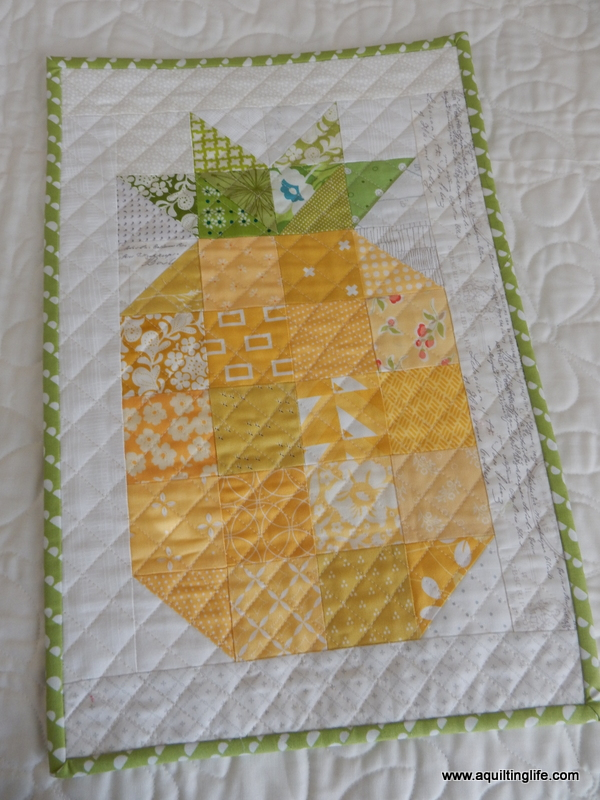 Pineapple Quilt Blocks A Quilting Life