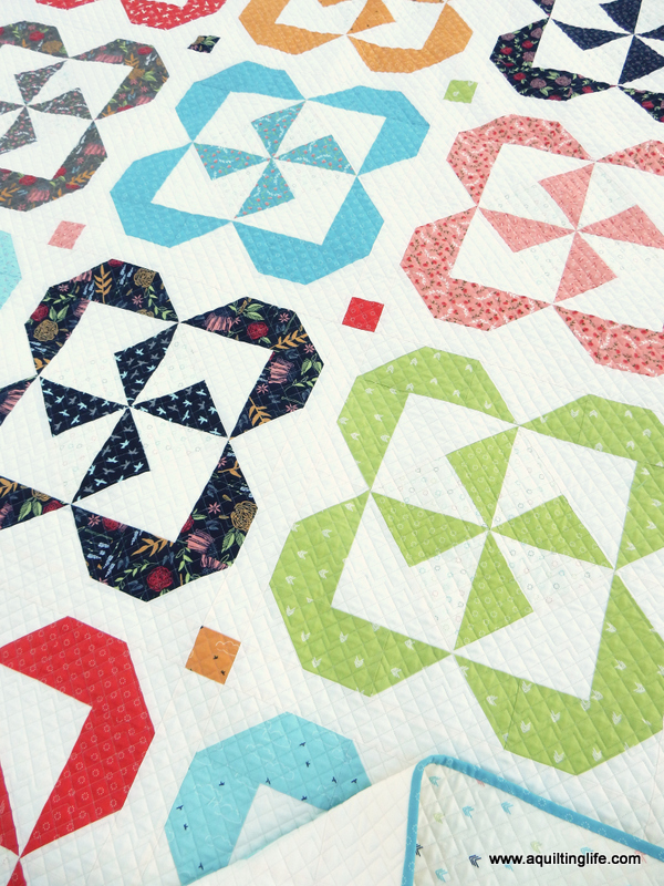 Quilt Patterns Pinwheel Posies Starry Night A Quilting Life