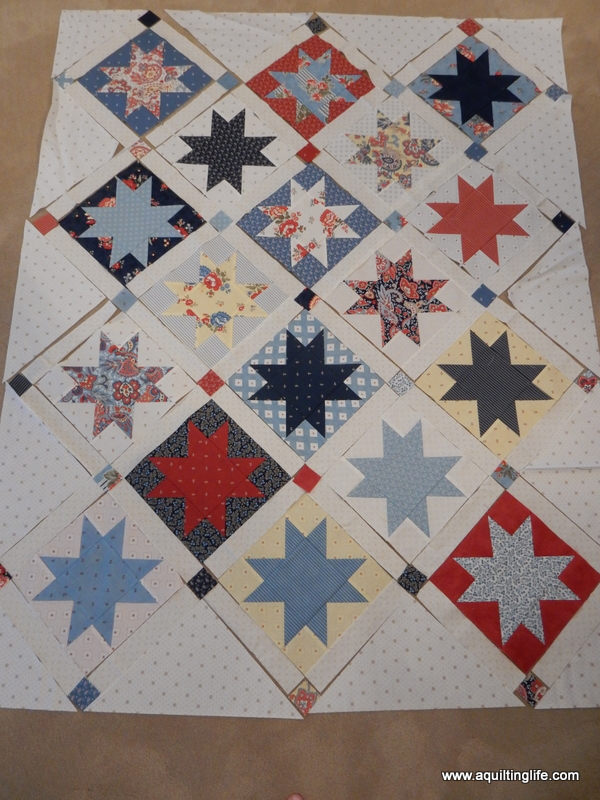 How To Sew An On Point Quilt A Quilting Life