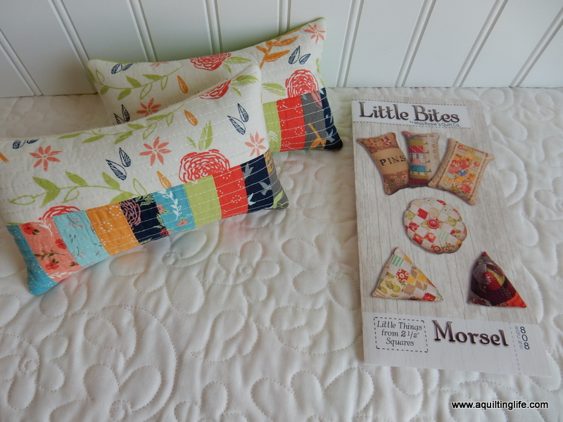 Quilted Pincushions A Quilting Life