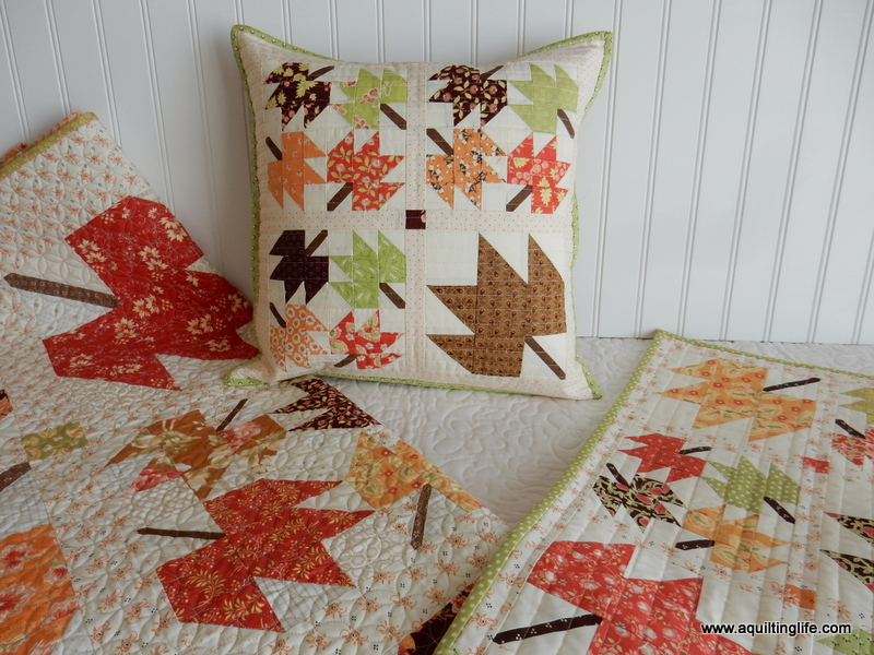 Maple Leaf Pillow A Quilting Life