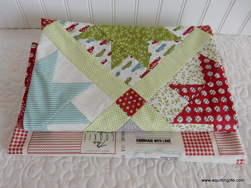 Christmas Layer Cake Quilt A Quilting Life