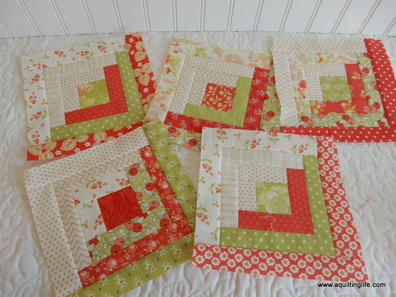 Log Cabin Quilt Along A Quilting Life