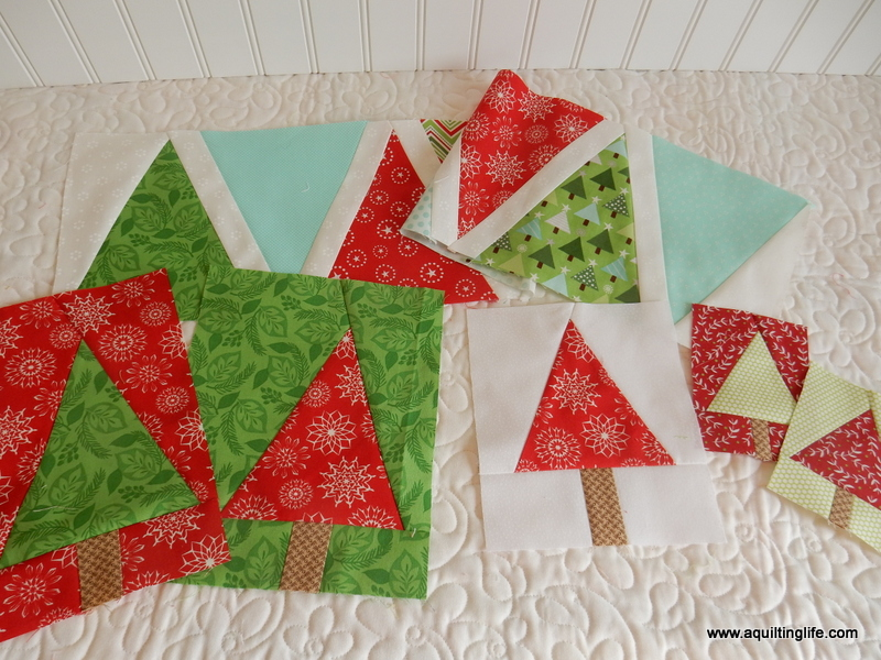 Christmas Tree Quilt Blocks A Quilting Life