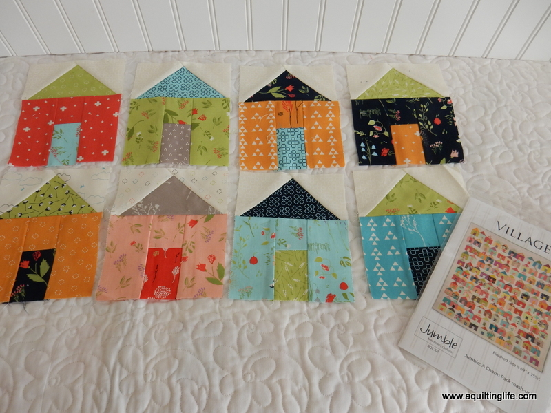 Village House Blocks Quilt Along A Quilting Life