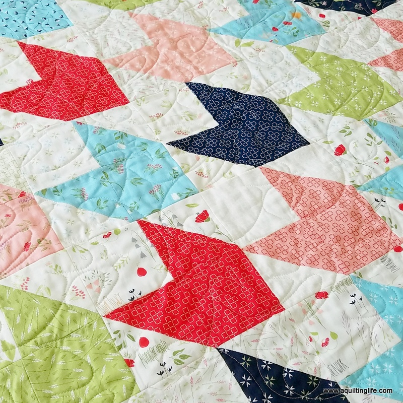 More Spring Quilts Sew Scrappy A Quilting Life