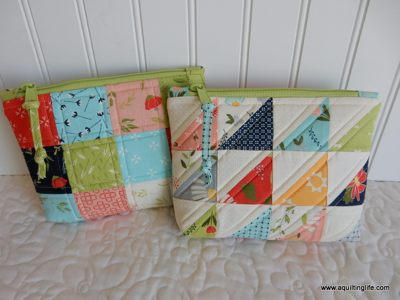 Bag Tutorials from A Quilting Life. Patchwork Gift ... 35072c90b4e2a