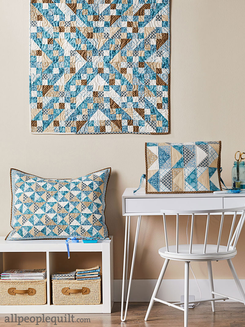 Quilts & More Quilted Pillow Sham