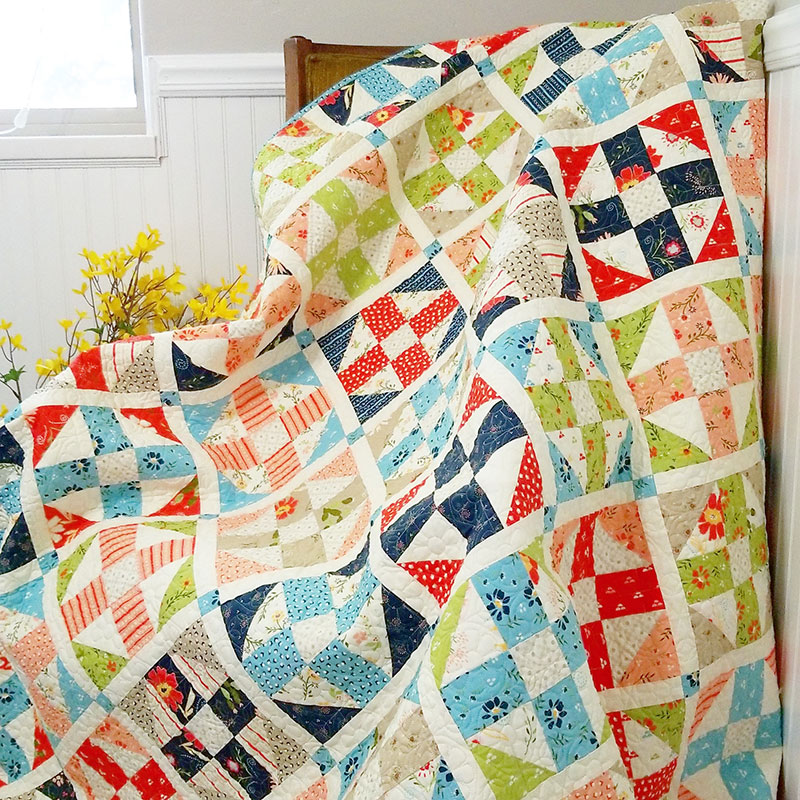 Pathways Layer Cake Jelly Roll Quilt Pattern A Quilting Life