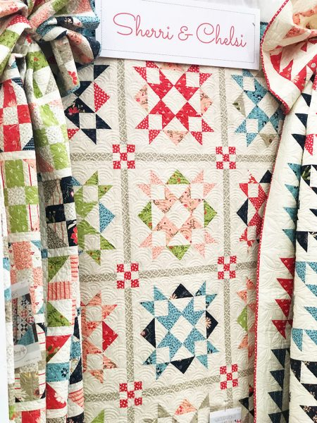 A quilting life Fall Market 2018 Booth